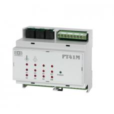 PT41 - zoninis grindinio šildymo centrinis valdymo modulis PT41